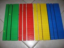 Lego Duplo 240 Bausteine 4er + 8er farblich sortiert rot hellgrün gelb blau
