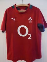 Puma Ireland IRFU RUGBY UNION SHIRT ADULTS JERSEY MENS Top 6 Nations World Cup