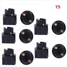 10x 74 PC74 T5 Dashboard Light Bulbs Socket Twist Lock Wedge instrument Base