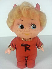 "Vtg 1964 Holiday Fair Hedaya Doll Devilish Imp Horns Outfit 6"" Devil Halloween"