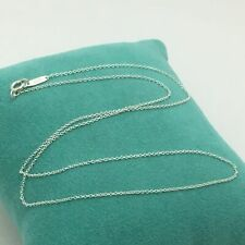 "$60 Tiffany & Co. Sterling Silver 925 Chain Necklace 16"" New"