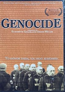 Genocide - Narrated By Elizabeth Taylor And Orson Welles (DVD, 2004)