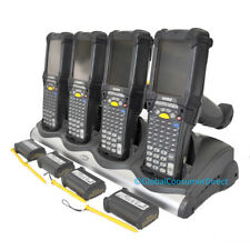 LOT of 4x Motorola MC9090G MC9090-GK0HJEFA6WR 1D/2D WM5 Barcode Scanner +CRADLE