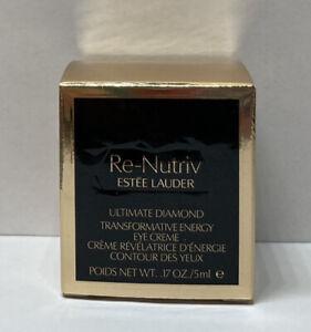ESTEE LAUDER RE-NUTRIV ULTIMATE DIAMOND TRANSFORMATIVE ENERGY EYE 5ml NIB