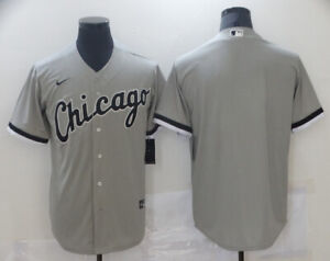 Men's Custom Chicago White Sox Black South Side Jersey Or Blank Stitched