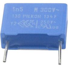 4 St Entstörkondensator PI MKP Y2 1500pF 1,5nF 300VAC RM10 Rohs konforme Neuware