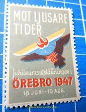 Cinderella/Poster Stamp - 1947 Sweden Mot Ljusare Tider Örebro 852