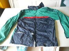 kway Adidas bleu rouge vert  S veste vintage  se met en boule