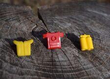 lot of 3 assorted Lego scuba accessories - life jacket, scuba tank, scuba gear
