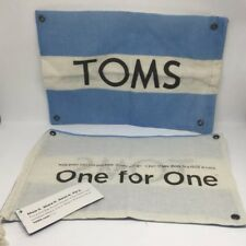 Toms Shoes Canvas Dust Cover Shoe Bag Sack Tote