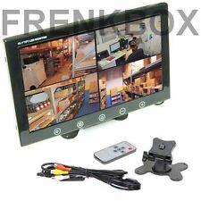 """Mini monitor TFT/LED 10"""" 2 ingressi av1av2 videosorveglianza sorveglianza PC"""