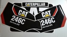 246C STICKER SET SKID STEER CATERPILLAR CAT DECAL KIT 246 LOADER