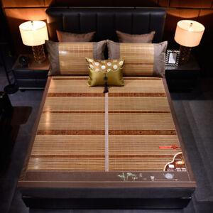 Bamboo mat for bed rattan mat folding cool feeling summer accessories Super cool