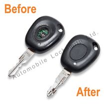 Renault Laguna 1 button remote key fob REPAIR SERVICE for damaged faulty keys