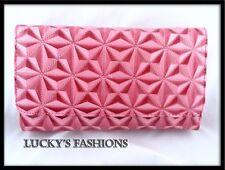 Wallet Clutch Pocketbook Pink Credit Card Holder