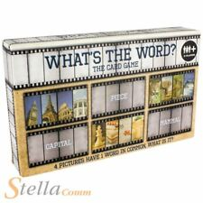 What's The Word? 4 Picture Linking Guessing Game Family Fun