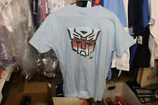 Transformers T-Shirt Hot Topic NWT Baby Blue