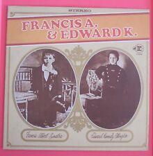 FRANK SINATRA - Francis A &  Edward K -  LP Vinyl Album Record Ellington