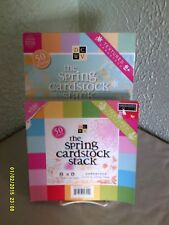 DCWV - The Spring Cardstock Stack --  2 for one money!