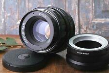 Soviet lens,Bokeh Portrait,HELIOS-44m 2/58mm USSR Lens+adapter M42/Sony nex