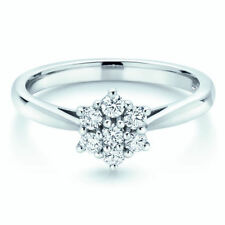 Wedding Cluster I1 Fine Diamond Rings