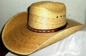 Stetson Jake – Toast Mexican Palm Straw Cowboy Hat - 7 1/4