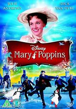Mary Poppins (1964) Disney | Julie Andrews | Dick Van Dyke | New | Sealed | DVD