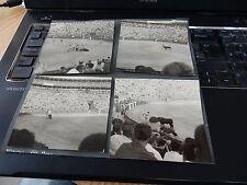BULLFIGHT ALICANTE   SPAIN BLACK & WHITE PHOTOGRAPH 1948-50 ERA    9 cm square