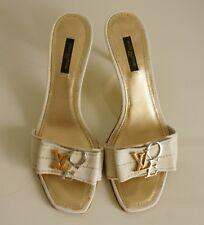 139f9aa0a6b8 Louis Vuitton Love slide heel sandals size 6