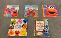 Sesame Street Book Lot *Lot of 5*