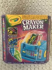 Crayola Crayon Maker with 8 Crayons Holders, New, Craft Kids Learning