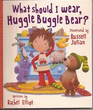 4 bks CLASSIC ANIMAL STORIES COLLECTION HC Case WHAT SHOULD I WEAR HUGGLE BEAR