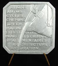 Medaglia Esposizione universal 1937 Morlon sc lavoro della'Alluminio medal