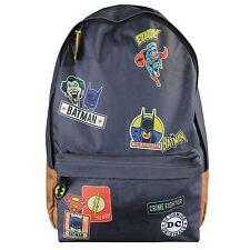 DC Comics Superheroes and Villains School Backpack Rucksack