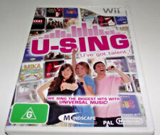 U Sing U've Got Talent Nintendo Wii PAL *Complete* Wii U Compatible
