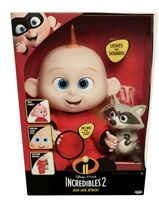 Incredibles 2 Jack Jack Attack Figure Doll Ages 3+ Toy Raccoon Baby Gift