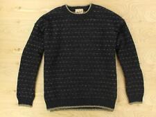 WOOLRICH nottingham tweed sweater XL wool blend birdseye nordic norway