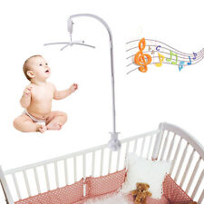 6pcs Baby Mobile Bed Bell Toy Arm Bracket Holder+Wind-up Clockwork Music Box New