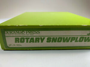 HOn3 Durango Press Rotary Snowplow Kit DP-30