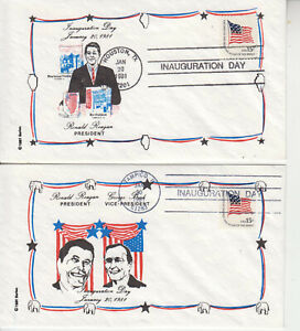 RARE REAGAN 1981 INAUGURATION::SINGULAR & W/V.P BUSH ULTRA BEAUTIFUL UNADDRESED
