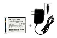 Battery For LG Optimus 2X P900/P990 Doubleplay G2X P999 +  Free Micro Wall