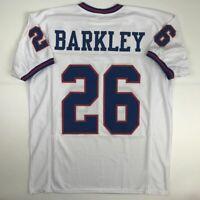 New SAQUON BARKLEY New York Color Rush Custom Stitched Football Jersey Men's XL