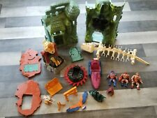 Huge Lot of 80s MOTU Vintage CASTLE GREYSKULL HE-MAN  Masters of the Universe