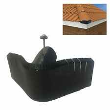 Universal Hip End Tile Closer. Manthorpe Dry Roof Fixing Alternative to Mortar.