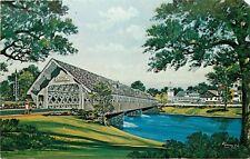 Frankenmuth Covered Bridge Zehnder Holz-Brucke Michigan MI Postcard