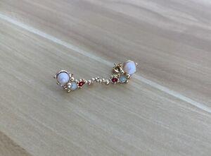 Les Nereides Pearl Earrings