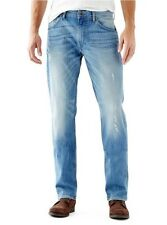 Guess Men's Vincent Regular Straight Jeans In Retribution Wash Size 32