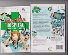 HYSTERIA HOSPITAL EMERGENCY WARD NINTENDO WII