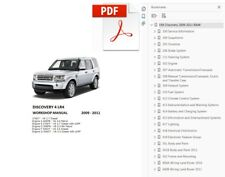 LAND ROVER DISCOVERY 4 LR4  2009 2010 2011 SERVICE REPAIR WORKSHOP MANUAL