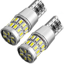 2X T10 Wedge Super White 3014 30-SMD Extreme Bright Car LED Bulb 194 168 W5W 158